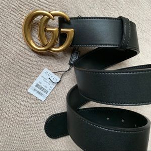 Authentic Gucci GG Marmot Belt with Tag